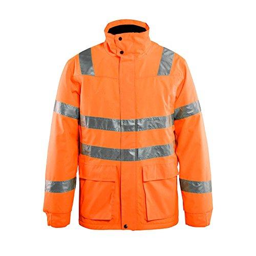 Blakläder 446219775300X XXL Größe 3X Große Hohe Gewicht Extreme Jacke–Orange