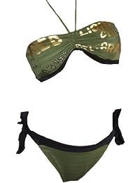 Maillot de bain femme 2 pièces bikini Bandeau