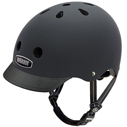 Nutcase Gen3 Bike und Skate Helm, Blackish matt, S, NTG3-3000M