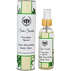 Sage Apothecary Seer Secrets Five Mint Specie Heat Absorbing Body Mist(100Ml)