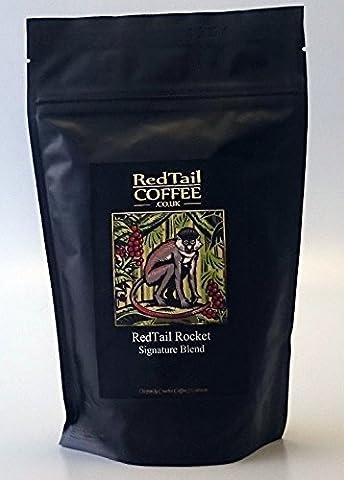 RedTail Coffee Rocket Super Crema Espresso Whole Bean Coffee, 250 g