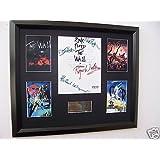 Pink Floyd autograph display music memorabilia