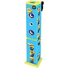 Despicable Me - Torre de sonido con Bluetooth, luminosa (Lexibook K8050DES)
