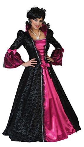 Karneval-Klamotten Viktorianisches Kostüm Damen Barock Kostüm Renaissance Damen-Kostüm pink...