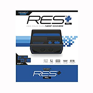 Retro-Bit RES + Royal Blue PAL version