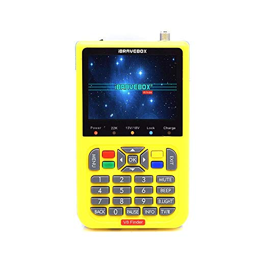 Eulan Display V8 HD Digital Satellite Signal Finder Meter, Digital TV Finder Meter with 3.5