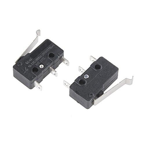 Mini Mikroschalter-SPDT (versetzt Hebel, 2er Pack) -