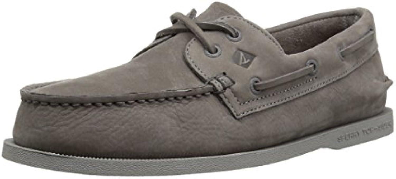 Sperry Top-Sider Men's A O 2-Eye Washable Boat scarpe, grigio, grigio, grigio, 12 M US | Lasciare Che I Nostri Beni Vanno Al Mondo  | Uomini/Donne Scarpa  375140