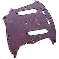 Festnight Guitarra Pickguard para Mustang MG69 Style Guitar, 3 Ply PVC Pickguard Guitarra Eléctrica Pieza