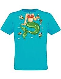 Ethno Designs Kids Fun - Mermaid - Meerjungfrauen T-Shirt für Mädchen - regular fit