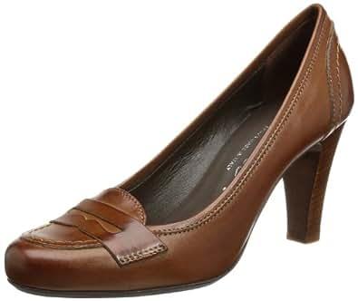 Evita Shoes Damen Pumps 41M26XA3210, Damen Pumps, Braun (hellbraun), EU 41