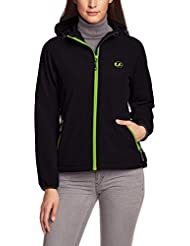 Ultrasport Damen-Funktions-Outdoorjacke Softshell Estelle mit Ultraflow 5.000