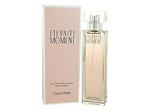Calvin Klein Eternity Moment, femme/woman, Eau de Parfum, 50 ml