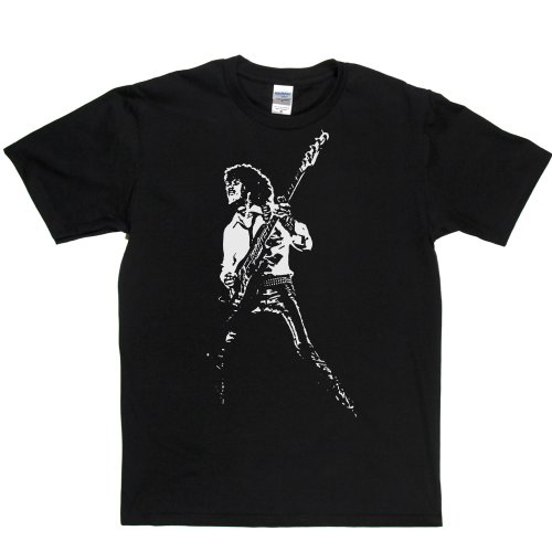 Phil Lynott Live Irish Musician Vocalist Bassist Tee T-shirt