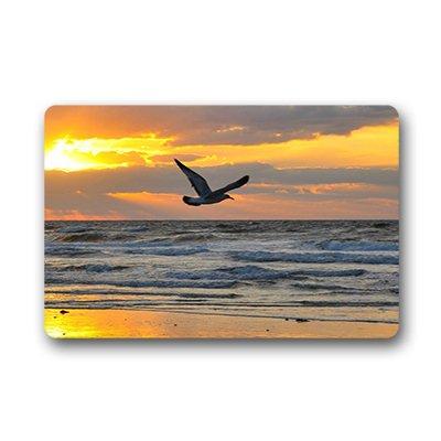 """Dalliy uccello del Gabbiano Zerbino Personalizzato Doormat 23.6""""x15.7"""" about 59.9cmx39.8cm"""