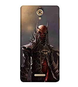 For Coolpad Mega 25D man dangerous man grey wallpaper Designer Printed High Quality Smooth Matte Protective Mobile Case Back Pouch Cover by Paresha