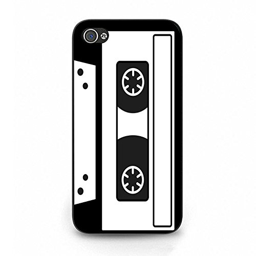 Magnetic Tape Iphone 4/4s Case Hot Cool Magnetic Tape Phone Case Cover for Iphone 4/4s Cassette Tape Unique Color119d