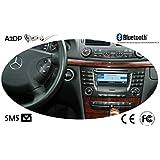 Fiscon Kit Bluetooth mains-libres pro pour Mercedes avec Audio 20, APS 50 et Command