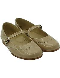 PANYNO Zapato Niña de Vestir E1929 EN Color Navy Y Burdeos (33, Burdeos)