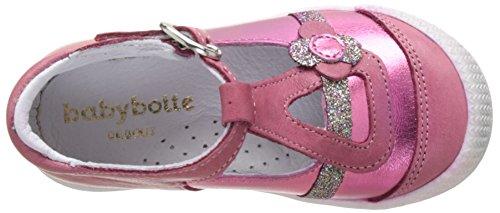 Babybotte Pearly, Bottillons Bébé Fille Rose (Framboise/Glitter)