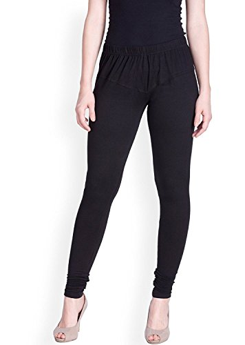 Lux Lyra Churidar Cotton Legging (Black)