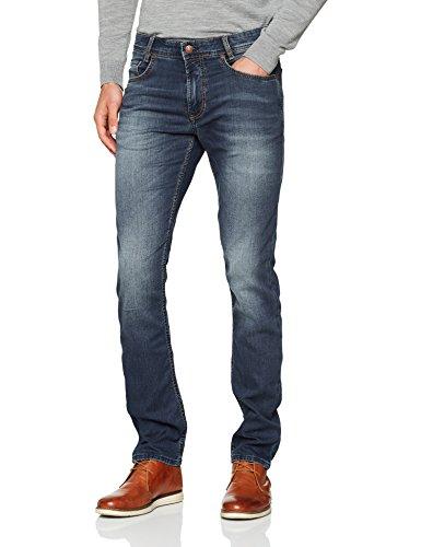 MAC Herren Straight Jeans Arne Blue Grey Authentic Wash, Blau (Blue Grey Authentic Wash H7 Preisvergleich