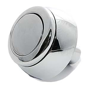 siamp storm 33a bouton de chasse d 39 eau de rechange simple plaqu chrome bricolage. Black Bedroom Furniture Sets. Home Design Ideas