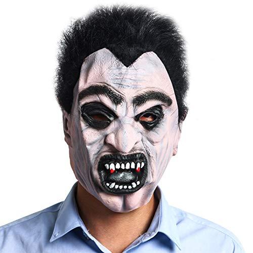 Holloween Masken Latex Gruseliger Horror Verfallende Zombie Kopf Masken Gesicht Schrecklich Für Halloween Kostüm Party Erwachsene Männer Frauen (Holloween Kostüm Männer)