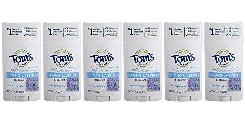 Tom 's of Maine Natural Deodorant Stick, aluminium-Free, Lavender, 2.25-ounce Stick- 1stick  By Tom 's of Maine