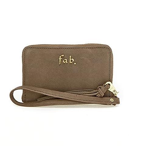 Fab by Fabienne Women's Phone wallet Baguette Handbag Beige NB avocado