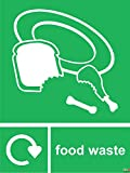 Recycling bin sticker Food waste - Self Adhesive Label ...