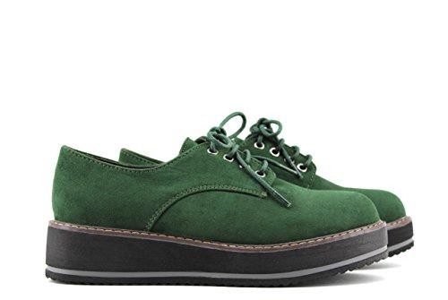 MODELISA, Scarpe stringate donna Verde