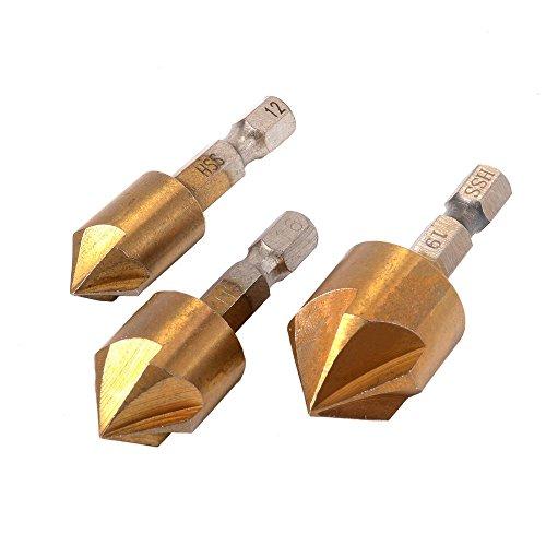 XCSOURCE 33 pz HSS Drill Set Drill 1/4