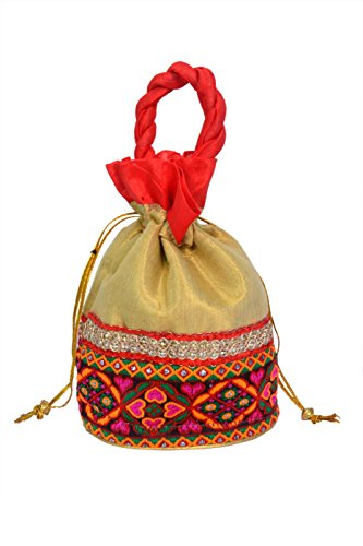 Craft Trade Designer Embroided Potli Bag