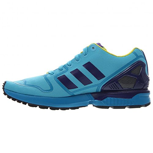 Adidas Zx Flux Synthetik Turnschuhe Brcyan/Cpurpl/Byello
