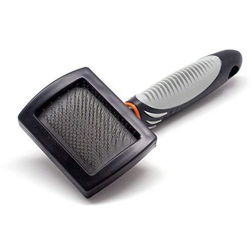 lle Haarpflegebürste für Katzen- / Hundehaar - Shedding & Dematting Tool - Undercoat-Rechen - Katze/Hund - Detangling-Bürste - Mittlere und Lange Haare kämmen 20 * 13cm ()