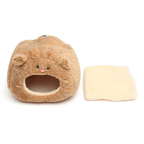 (KINGDUO Pet Plüsch Hängematte Für Ferret Rat Hamster Eichhörnchen Papagei Hängenden Bett Haus Spielzeug)