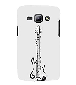 FUSON Guitar With Nodes 3D Hard Polycarbonate Designer Back Case Cover for Samsung Galaxy Win I8550 :: Samsung Galaxy Grand Quattro :: Samsung Galaxy Win Duos I8552