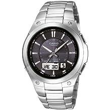 CASIO LCW-M150D-1AER - Reloj de caballero de cuarzo, correa de acero inoxidable color plata