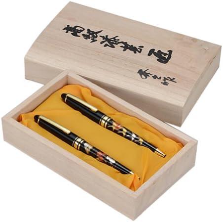 Higashide Lacquerware lusso lusso lusso penna a sfera lacca coppia Fuji Crane (Kiribakoiri parallelo) 1311 [Importato dal Giappone] | Ideale economico  | Bassi costi  | Sensazione Di Comfort  925ccf