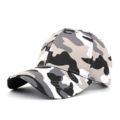 llmütze Frauen Männer Casual Tactical Outdoor Camouflage Sport Cap Baseballmütze (Schwarz) (Dallas Cowboy Stroh Hut)