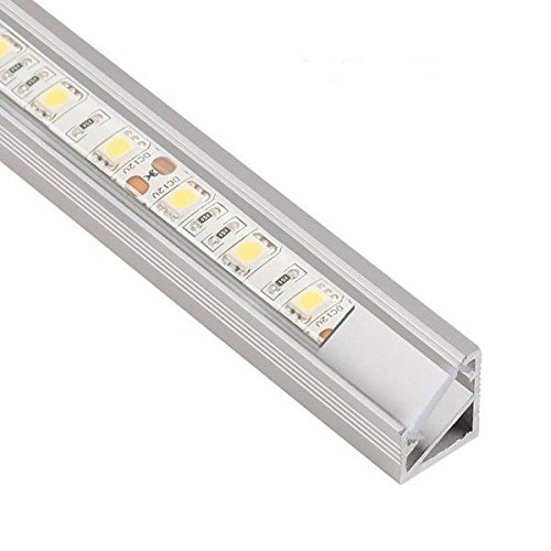 tl1614-angle-profile-anodized-aluminium-1-m-45-for-led-strips-with-clear-cover-mounting-caps-and-sta