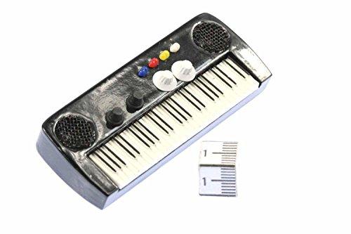 Miniblings Keyboard Brosche elektrisches Klavier Piano Orgel Pin Anstecknadel