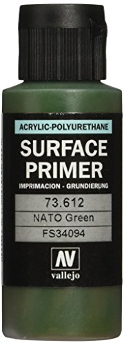 Vallejo Model Color 60 ml Polyurethane Primer - Nato Green