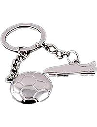 3d sport fußball anhänger schlüsselbund schlüsselanhänger.rotierende-/&L