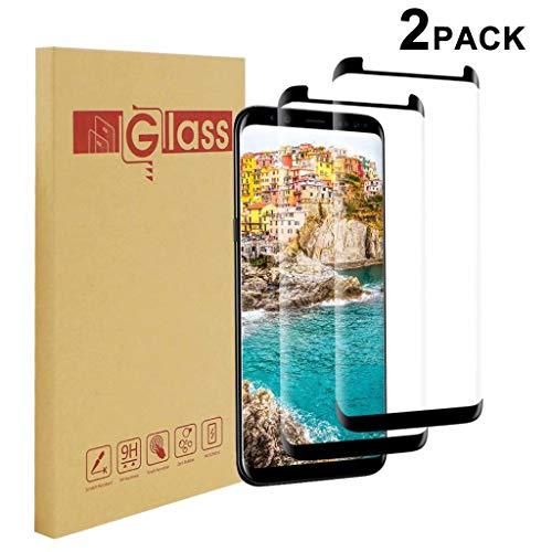 Galaxy S8 Plus Schutzfolie [2 Stück], Chengtao Samsung S8 Plus Panzerfolie Abdeckung [HD-Klar] einfache blasenfreie Aufbringung [Displayschutzfolie transparent] Folie für Galaxy S8+/S8 Plus