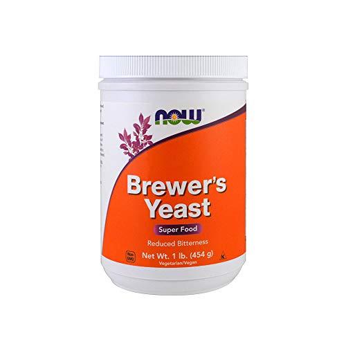 Bierhefe, Reduziert Bitternis, 1 lb (454 g) - Now Foods