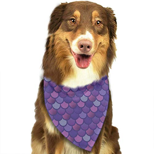The pet dog bandana bibs Scarfs can be worn on the front chest or back, both sides are available to wear.The Size Fits Most Pets, Cat, Small, Medium And Large Breed Dog.