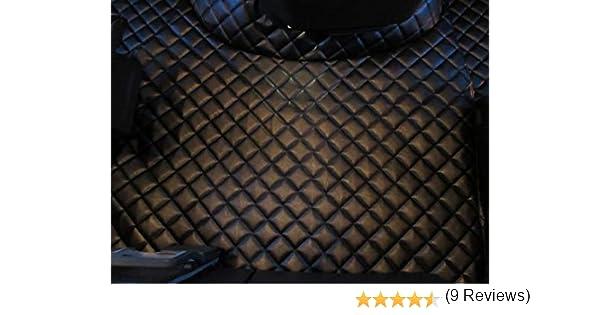 Tappetini per Camion Volvo FH4 AUTOMAT Dopo Il 2014 TEXMAR Guida a Sinistra Colore: Rosso in Ecopelle
