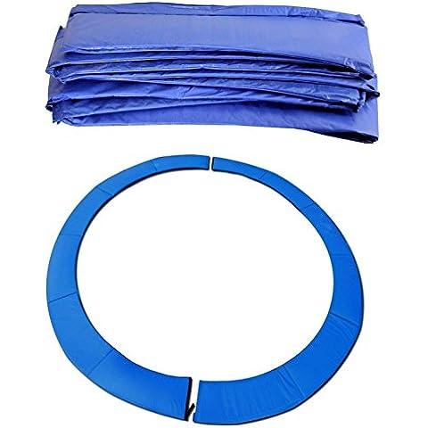 BodyRip–Sostituzione Trampolino Sicurezza Primavera, imbottitura, colore: blu, 4,3m
